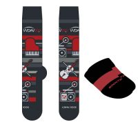 WDAV Custom Crew Socks + SockTips