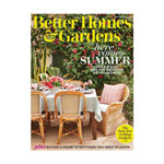 Annual Subscription to Better Homes and Gardens Magazine